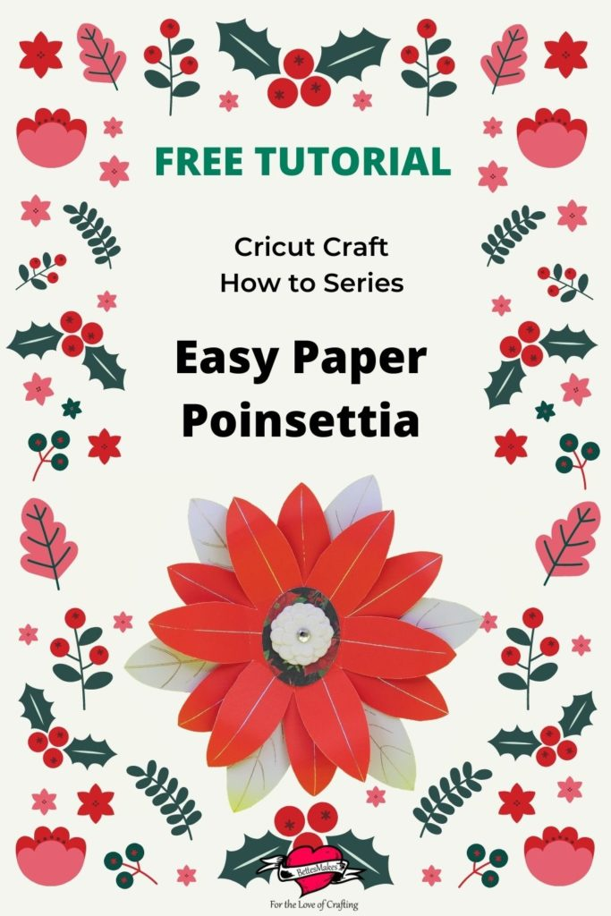 Easy Paper Poinsettia