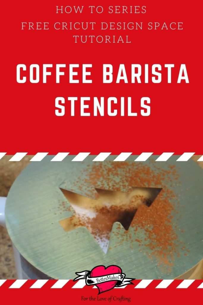 How to Series - Coffee Barista Stencils