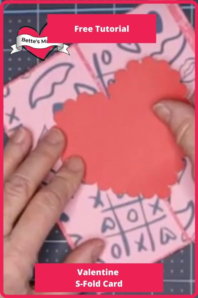 Valentine S-Fold Card - Beginner Friendly