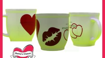 Valentine's Day Mug Decals - Beginner-Friendly
