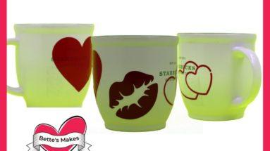 Valentine's Day Mug Decals - Beginner-Friendly