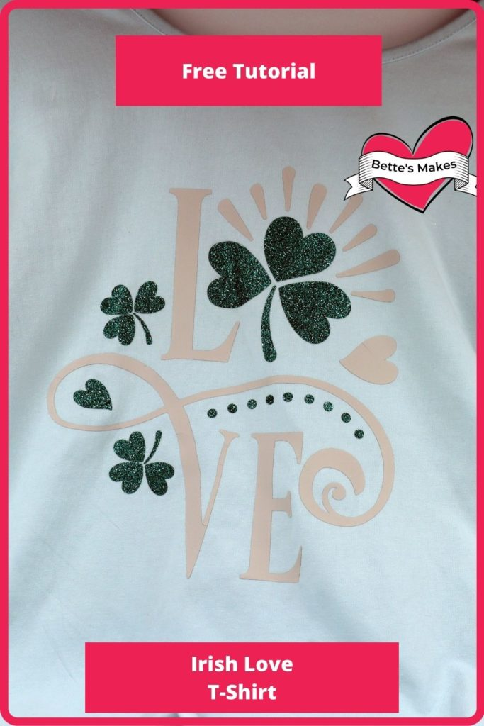 Irish Love Iron-On T-shirt
