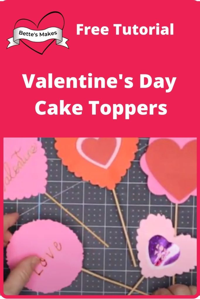 Valentine's Day Cake Toppers - Beginner-Friendly