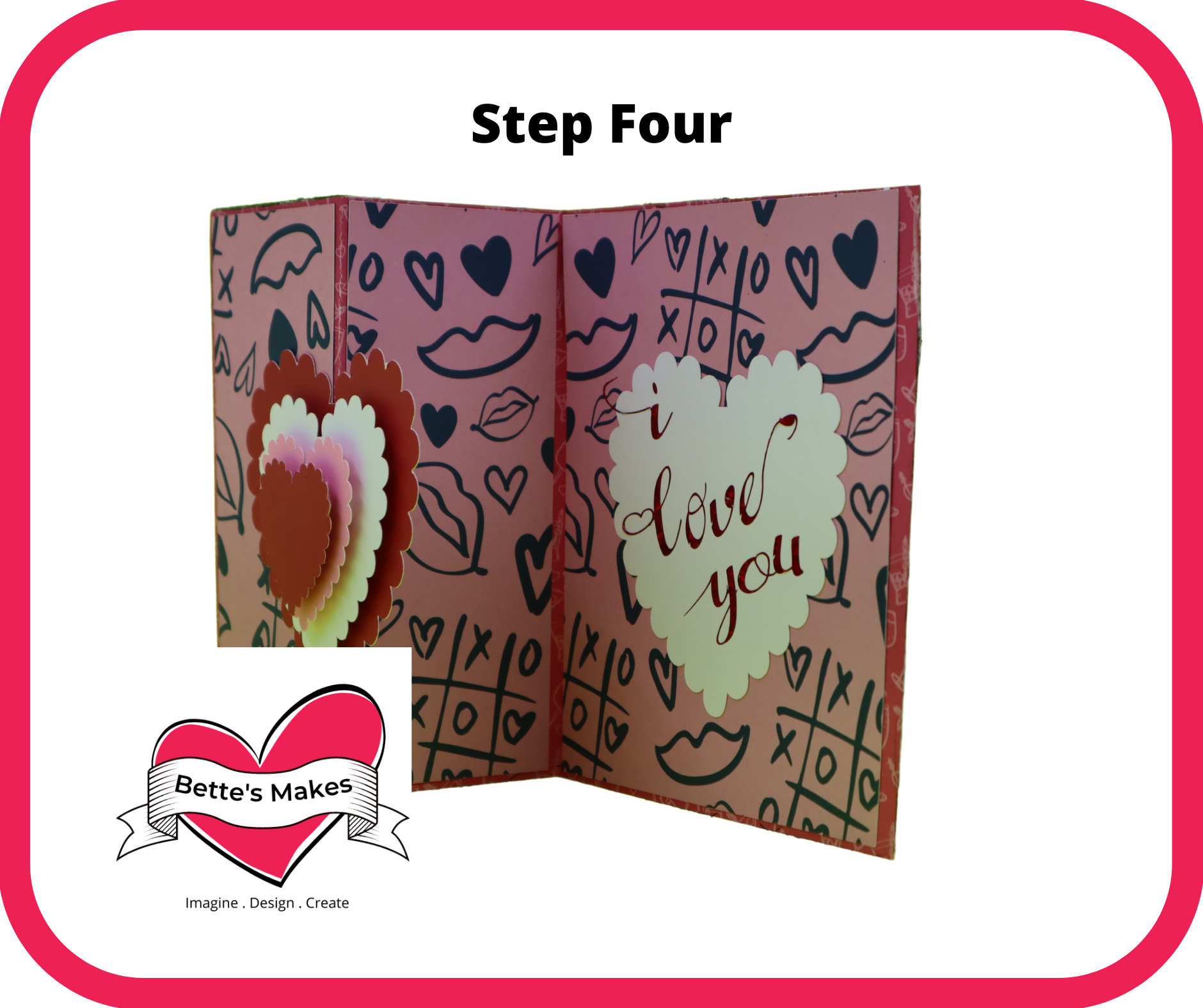 Valentine's S-Fold Card – Easy Make