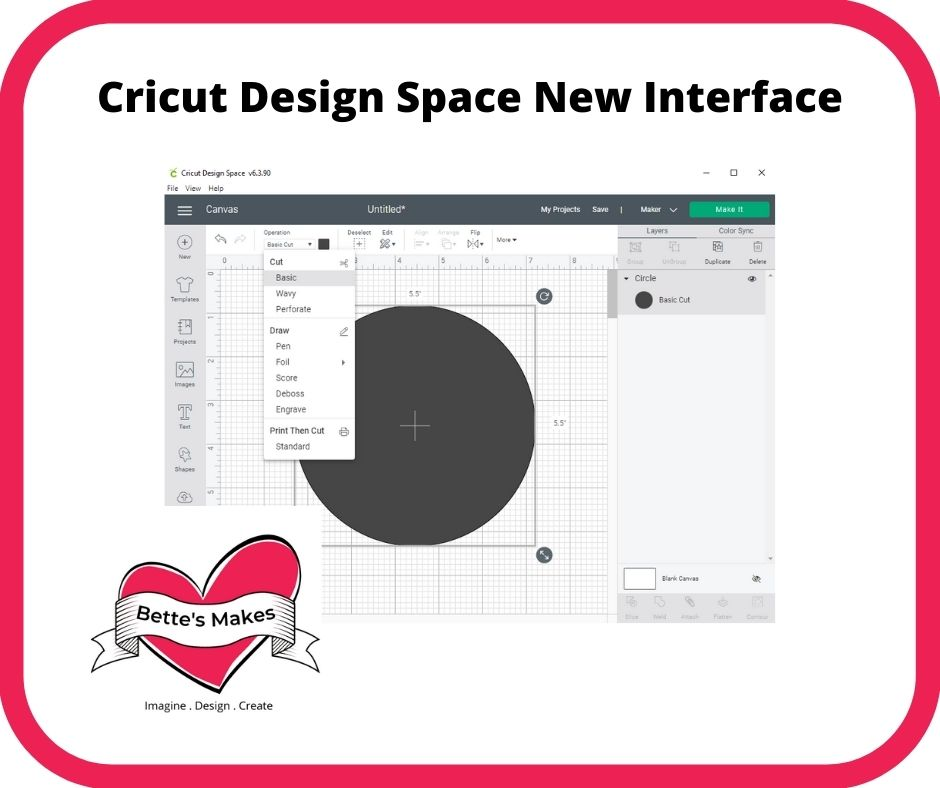 Cricut Design Space – The New Interface