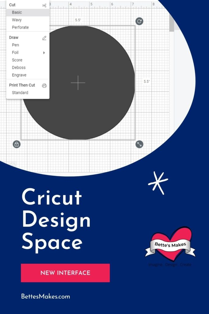Cricut Design Space New Interface