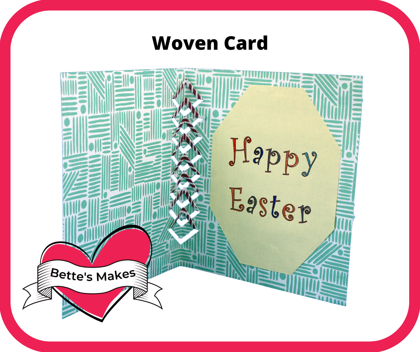 Easter Greeting Cards – Woven Style