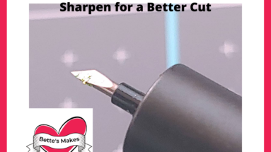 How to Clean and Sharpen Your Cricut Blades