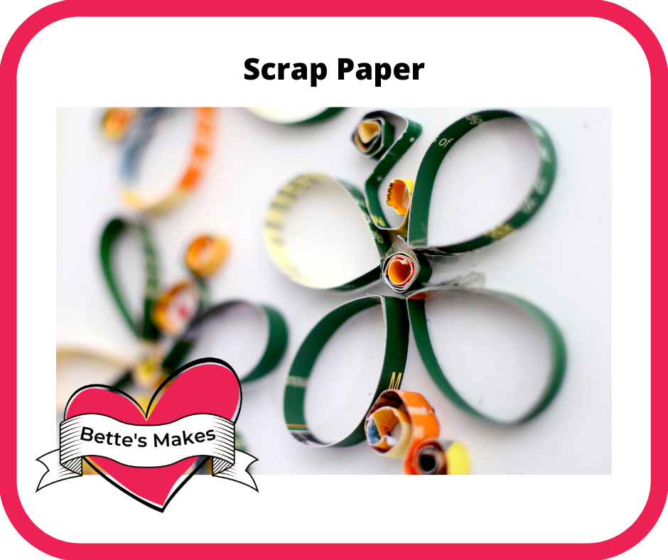 Organizing and Using Scrap Paper
