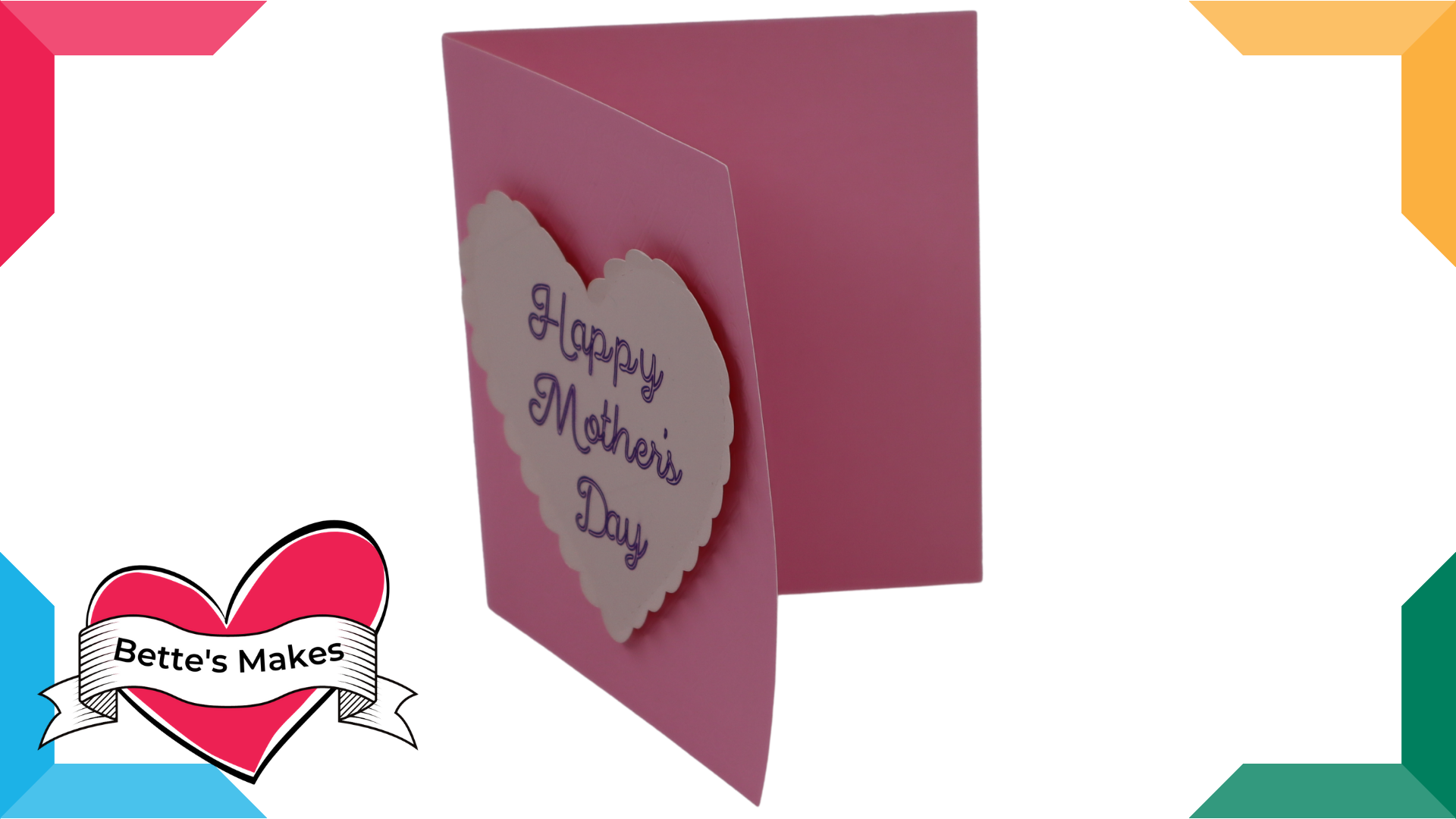 How to Make a Debossed Card for Mother's Day