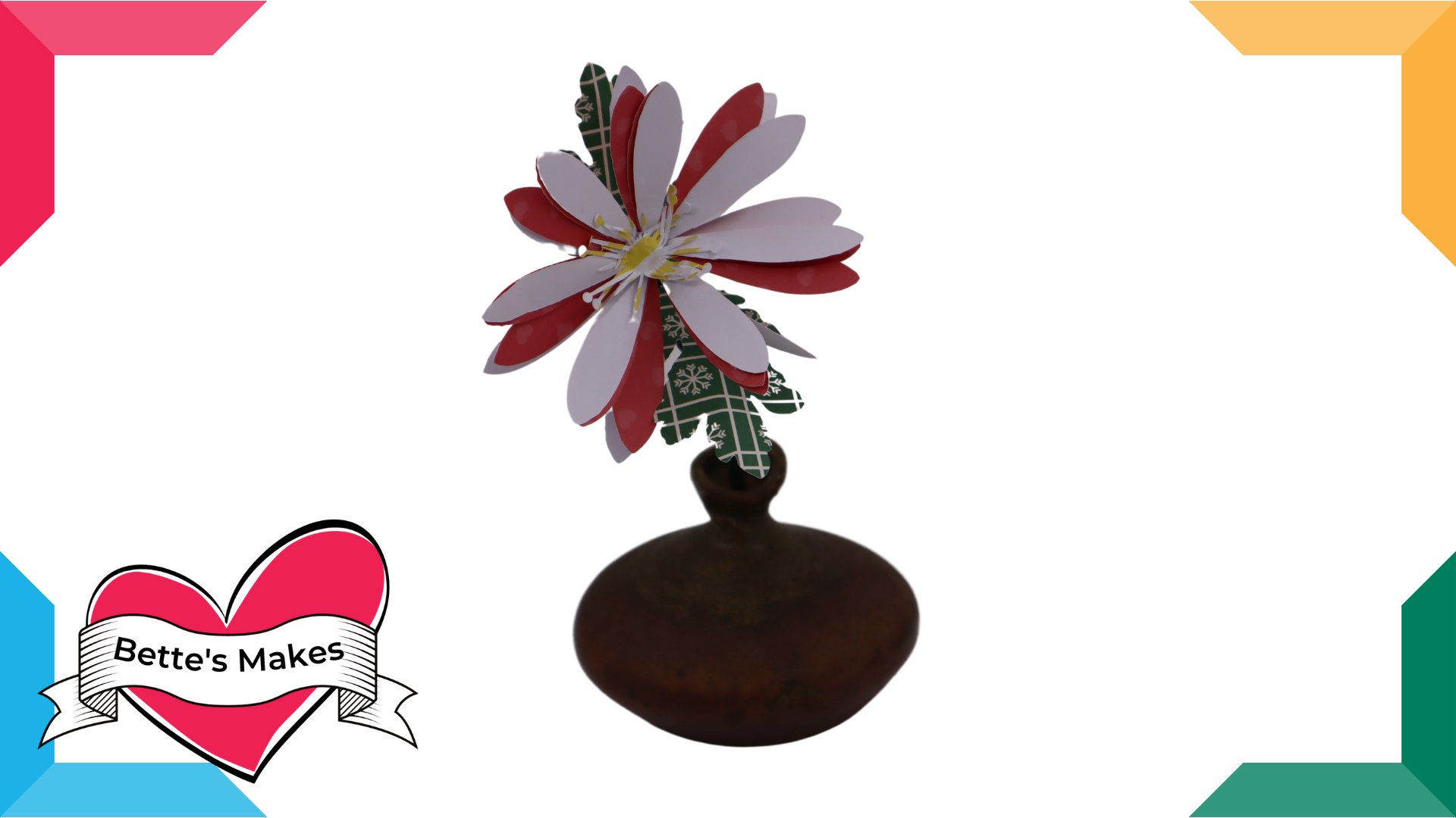 DIY Paper Flowers – Daisy