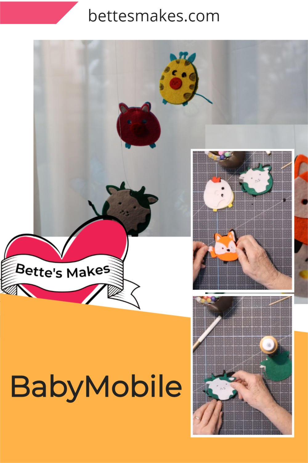 How to Make A Baby Mobile Using Your Cricut
