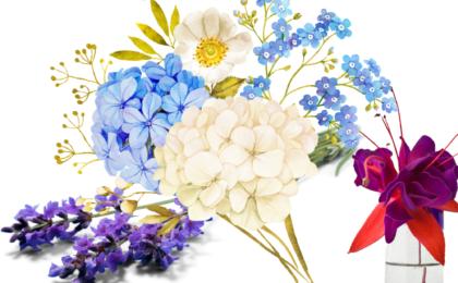 2021 Summer DIY Flower Challenge