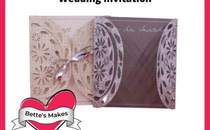 Wedding Invitation Using Your Cricut