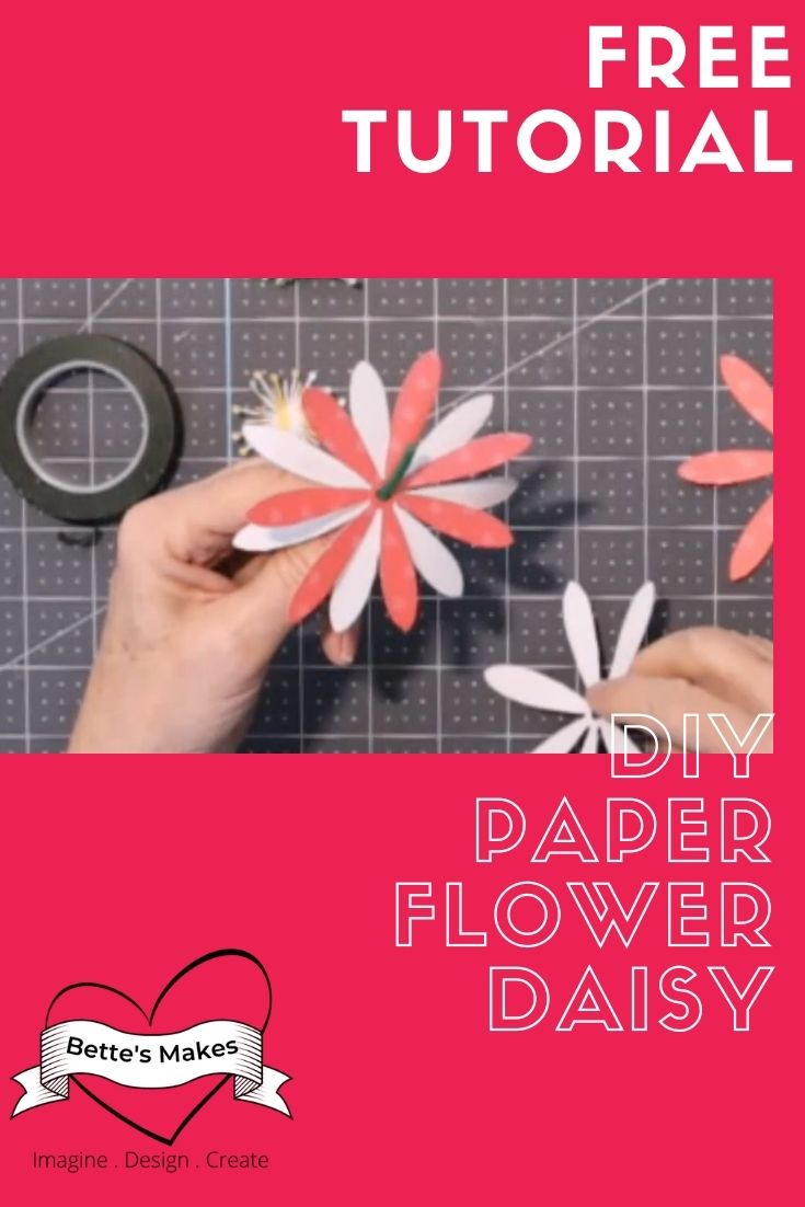 How to Make a DIY Paper Flower Daisy