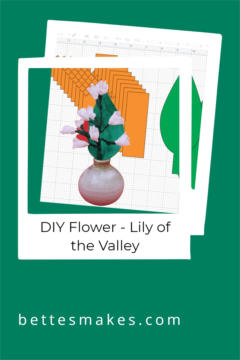 How to Make a DIY Paper Flower Lily of the Valley