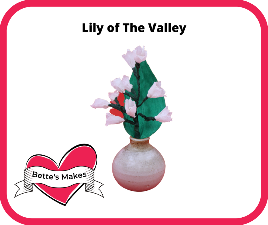 DIY Flowers: How to Make a Lily of the Valley